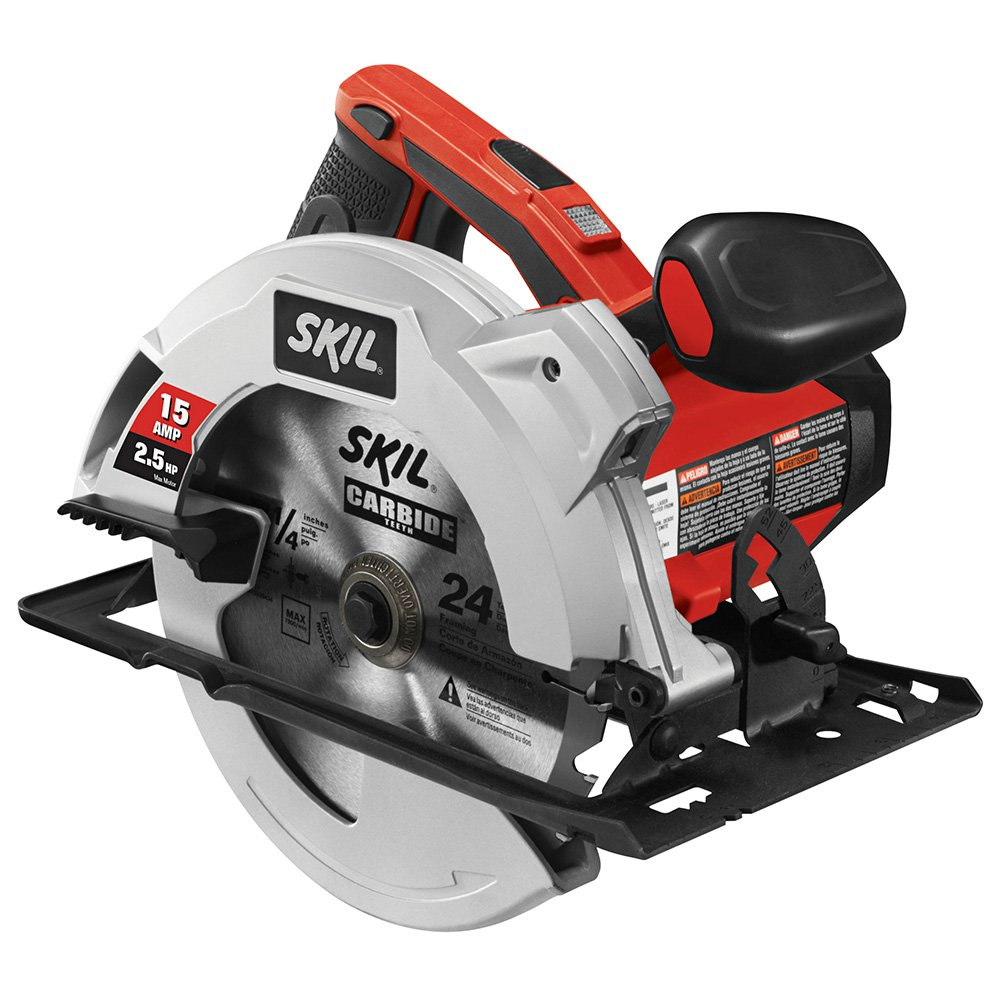 SKIL 5280-01 15-Amp 7-1/4-Inch Circular Saw with Single Beam Laser Guide by Skil