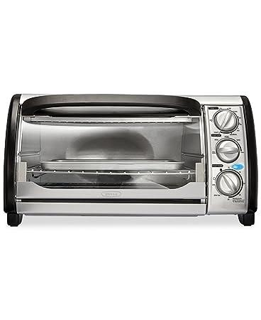 Amazon Bella 4 Slice Toaster Oven Toast Bake Broil