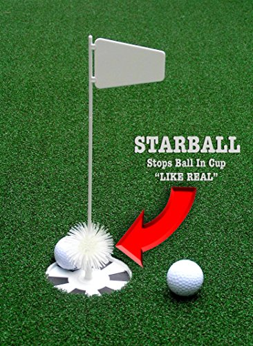"""StarPro 4ft x 12ft 5-Hole Mobile Professional Practice Putting Green ''Best in the World."""" by StarPro Greens (Image #3)"""