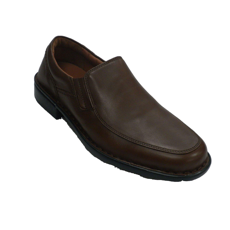 MADE IN SPAIN Zapato Hombre con Pala Lisa Fleximax EN Marrón 45 EU