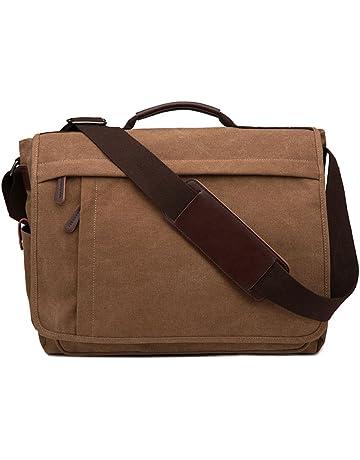 86ee1d6a1 Neumora Practical Design Men's Canvas Shoulder Messenger Bag Casual Laptop  Cross-Body Sling Bag Satchel
