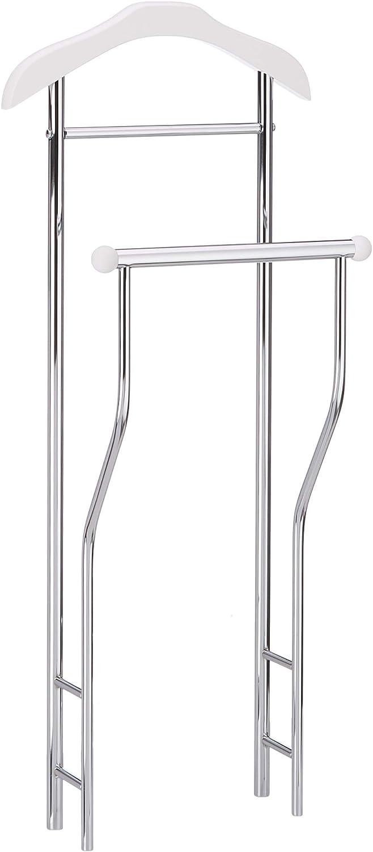 Haku Möbel perchero perchero en blanco, altura 110 cm