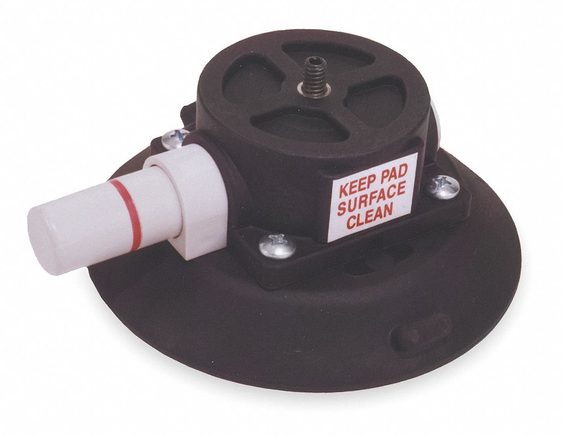 Suction Cup Mount,4.5 In Dia,1/4-20