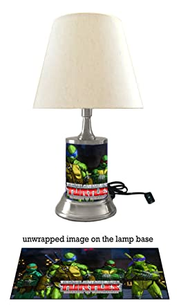 Teenage Mutant Ninja Turtles Lamp with Shade, Mutants in ...