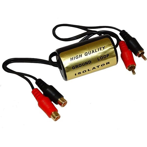 AERZETIX: Filtro de ruido RCA para amplificador audio de coche ...