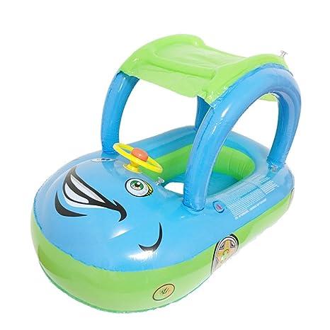 Uleade PVC Flotador Anillo de natación, Infant Natación Flotador de piscinas para bebés niños 1