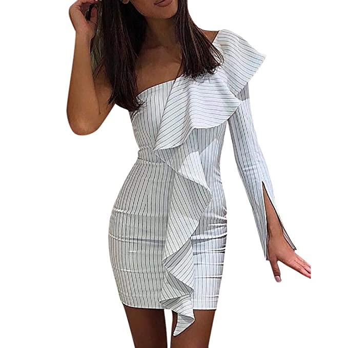 new product 834c3 7a1d0 Vestito Elegante da Donna, LANSKRLSP Abito Cerimonia da ...