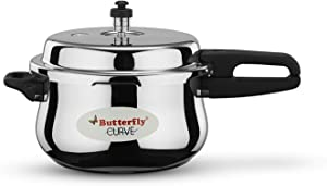 Butterfly Curve Stainless Steel Cooker (5 L)