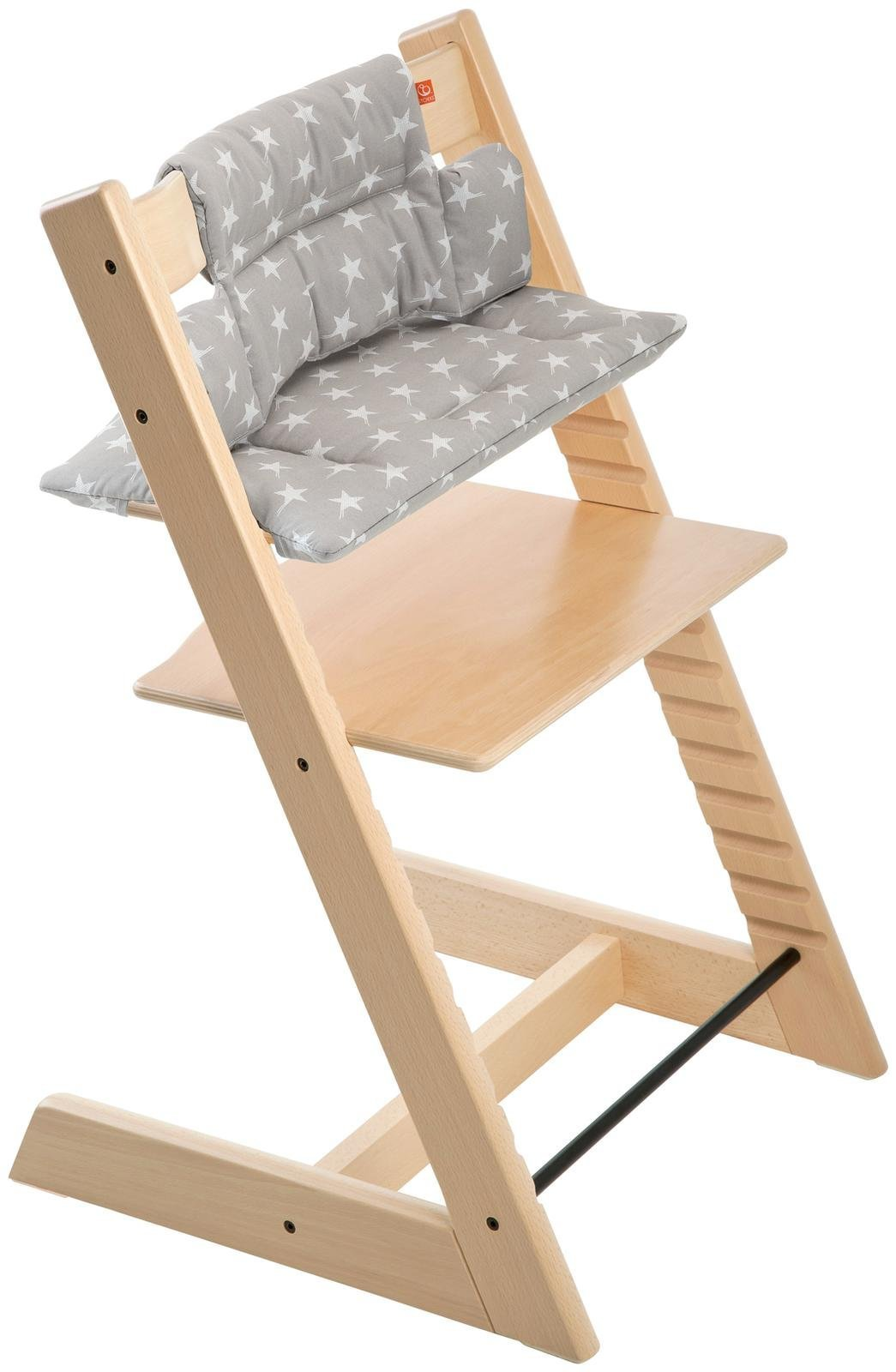 Stokke Tripp Trapp Cushion, Grey Star