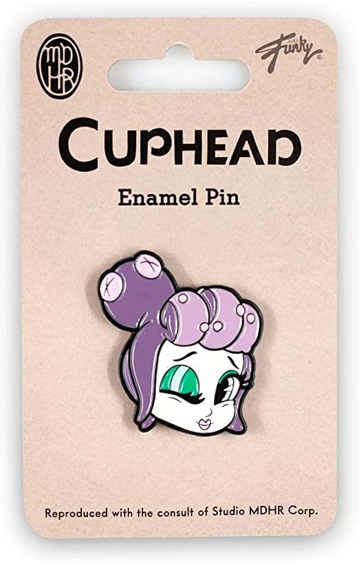 Desconocido Cuphead Collectable | Cuphead Mermaid Boss Enamel Pin ...
