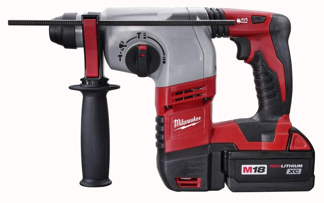 Milwaukee 2605-22 M18 18-Volt Cordless Lithium-Ion 7 8-inch SDS Plus Rotary Hammer Kit
