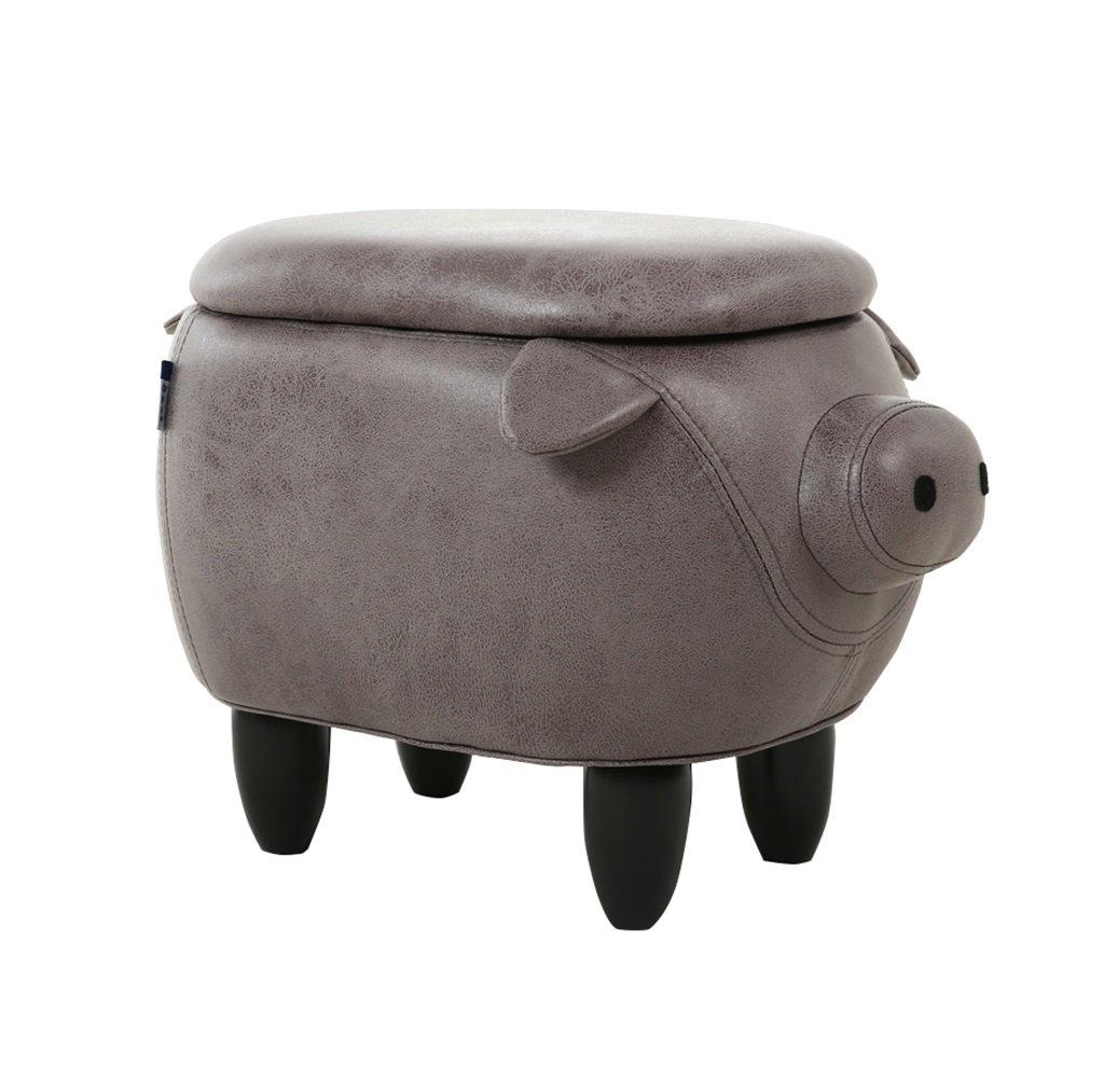 YYdy-Polsterhocker Creative Change Schuhe Hocker Home Storage Test Schuhe Footer Storage Chair Bench (Länge  63cm, Breite  33cm, hoch 36cm) (Farbe   B) E