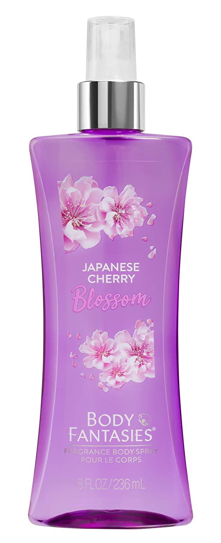PARFUMS DE COEUR Fragrance Body Spray, Japanese Cherry Blossom, 8 Fluid Ounce