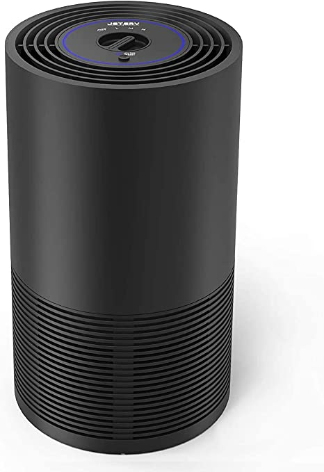 Purificador de aire 170 M3 / H Hogar con filtro HEPA verdadero y filtros de carbón activo, purificador portátil de 3 velocidades para salida de filtro 99.97% Alérgenos, olores, PM2.5: Amazon.es: Hogar