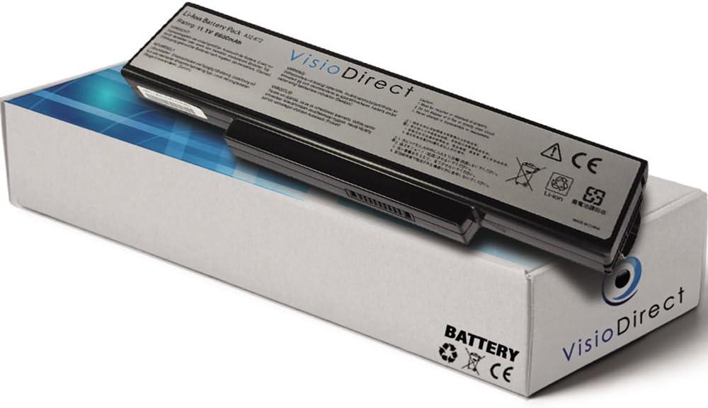 Batterie pour ordinateur portable ASUS X77V Société française