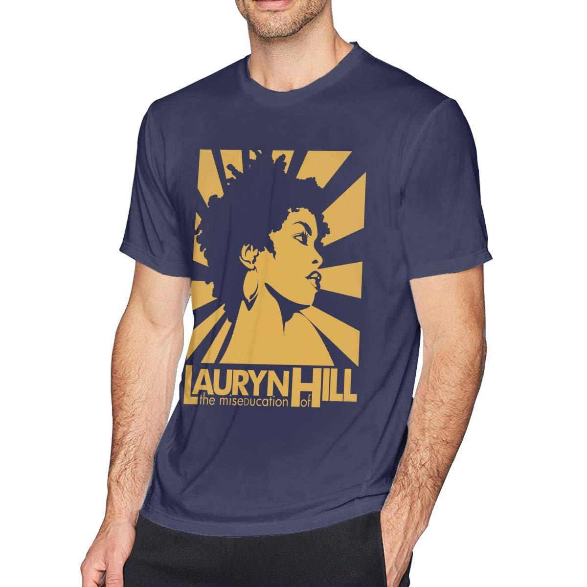 Mens Lauryn The Miseducation Hill Tee T-Shirt Black