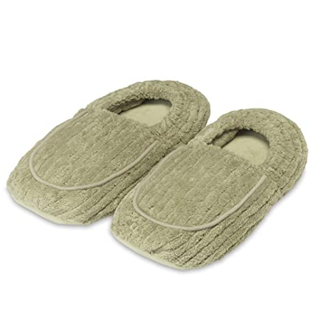 Intelex Warmies Pantuflas para microondas con aroma a lavanda ...