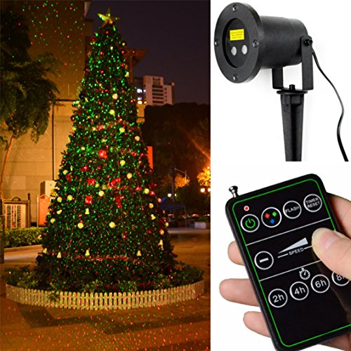 Outdoor Landscape Laser Lighting - 7