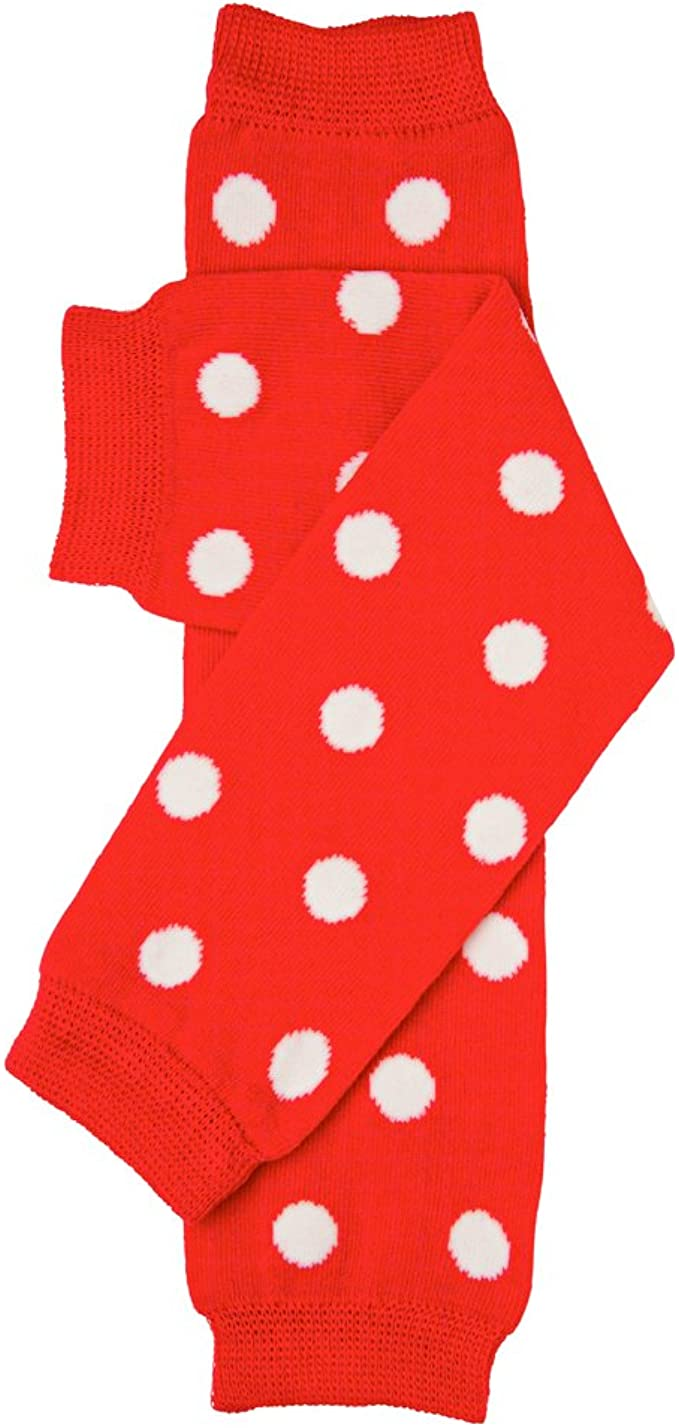 juDanzy Polka Dot Leg Warmers for Baby or Toddler Boys and Girls