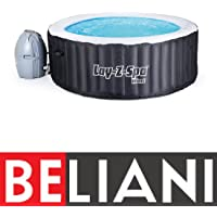 Lay-Z-Spa Miami Hot Tub, Airjet Inflatable Spa, 2-4 Person