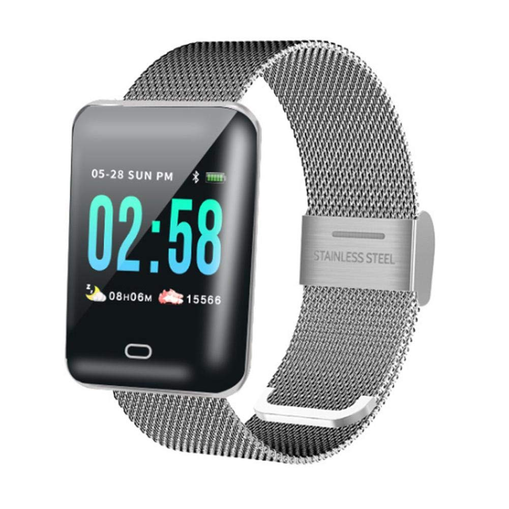 Amazon.com: puremood Smart Watch Bracelet Heart Rate Monitor ...