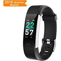 Cotify Fitness Bracelet Tracker Activity Tracker Smartwatch with Heart Rate Monitor Waterproof IP68 Pedometer Watch Vibration Alarm Call SMS Whatsapp Note Compatible with iOS & Android