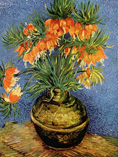 Lais Jigsaw Vincent Willem Van Gogh - Still Life with Imperial Crowns in a Bronze vase 2000 Pieces