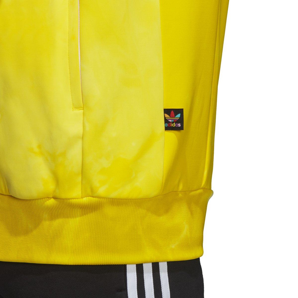 4fad7940d adidas Mens Pharrell Williams hu Holi SST Track Jacket - Yellow CW9106 (L)   Amazon.ca  Sports   Outdoors