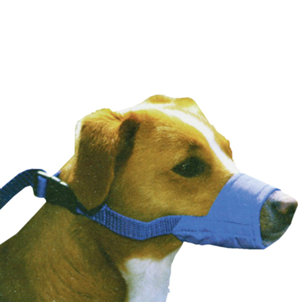 Four Flags Dog Muzzle X-Small, Quick Muzzle, Blue by Four Flags