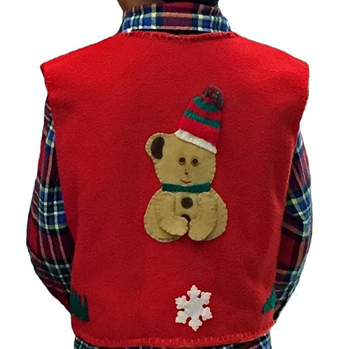 Amazon.com: Funny Christmas Chaleco suéter – Los niños las ...