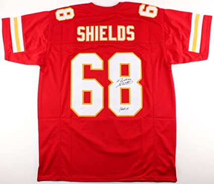 Will Shields Autographed Signed Chiefs Jersey Inscribed HOF 15 Memorabilia  - JSA Authentic 32700744e