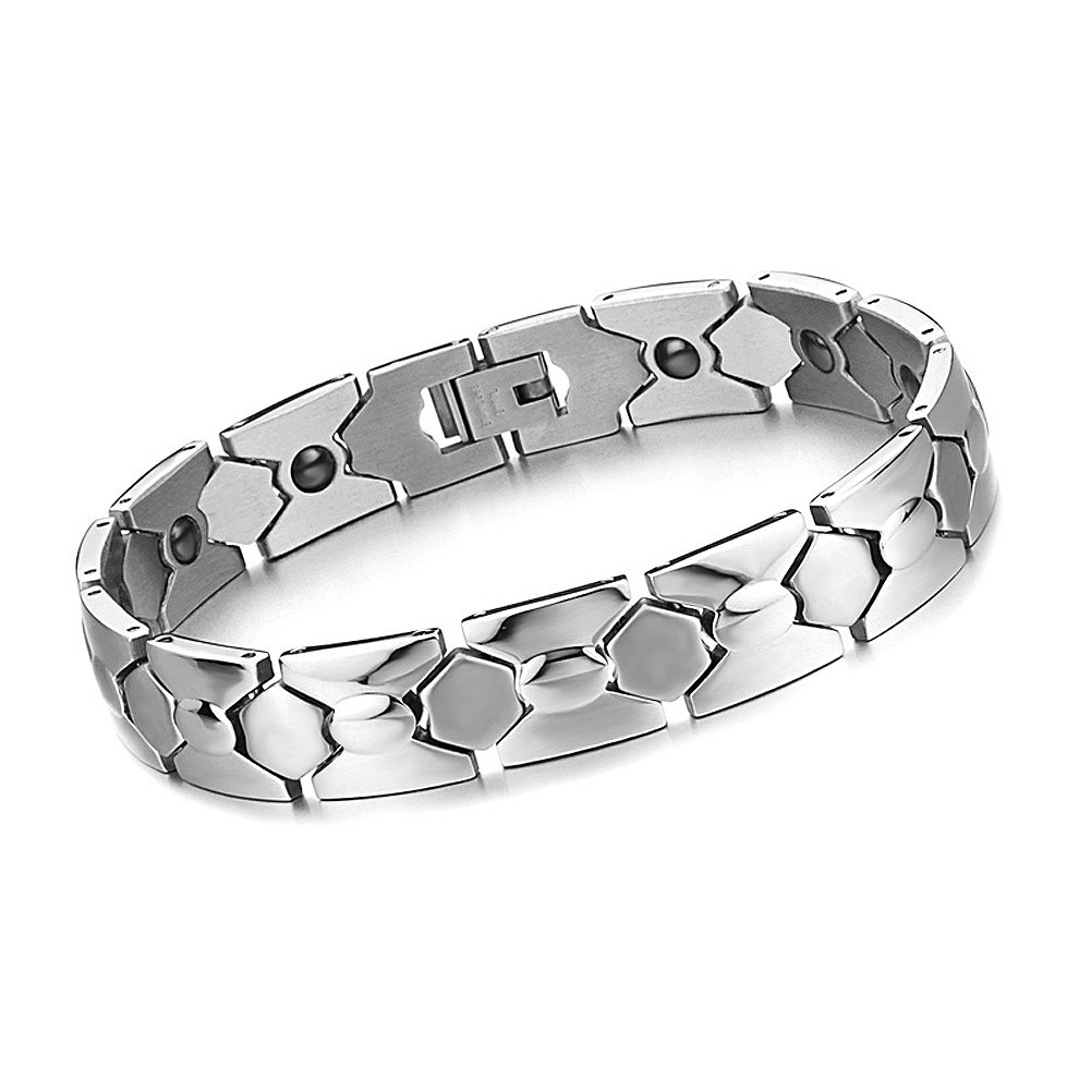 Titanium Power Healing Magnetic Bracelet Wristband Balance Energy Body w/ Box/036 by Power Ionics (Image #1)
