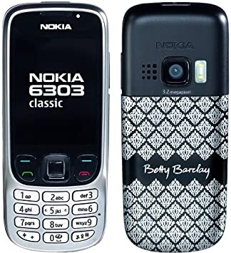 cheaper 1b40f f6904 Nokia 6303 Classic Betty Barclay Edition ohne Parfüm (Kamera mit 3,2 MP,  MP3, Bluetooth) Handy