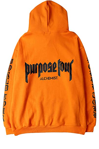 90fbcd1f0703 PURPOSE TOUR hoodie ALCHEMIST super rare Justin Bieber Merch  Amazon.co.uk   Clothing