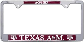 Texas A/&M Aggies Texas 3D License Plate Frame