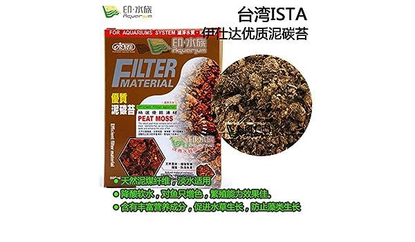 [India acuario] selección Yi Shida ISTA de la turba de musgo calidad del filtro de acuario tanque de valor PH desacidificación estable: Amazon.es: Oficina y ...