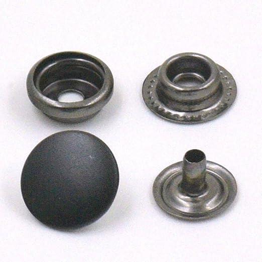 "Button Head Hot Rivet Set for 1 1//16/"" Stemmed Rivet DEL15012-S Snap"