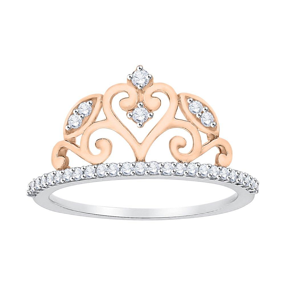 G-H,I2-I3 Size-3 1//5 cttw, Diamond Wedding Band in 10K White Gold