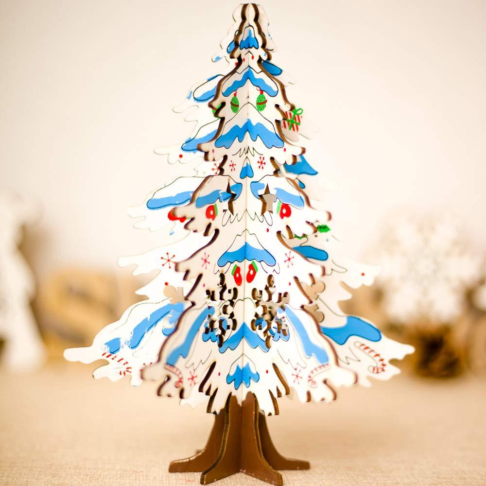 Amazon.com: Pausseo - Mini adornos decorativos de madera ...