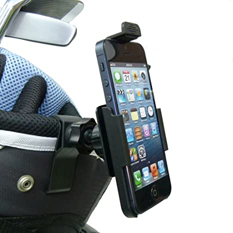 hot sale online 34a80 b6f69 Amazon.com: BuyBits Dedicated TC Golf Bag Clip Mount Phone Holder ...