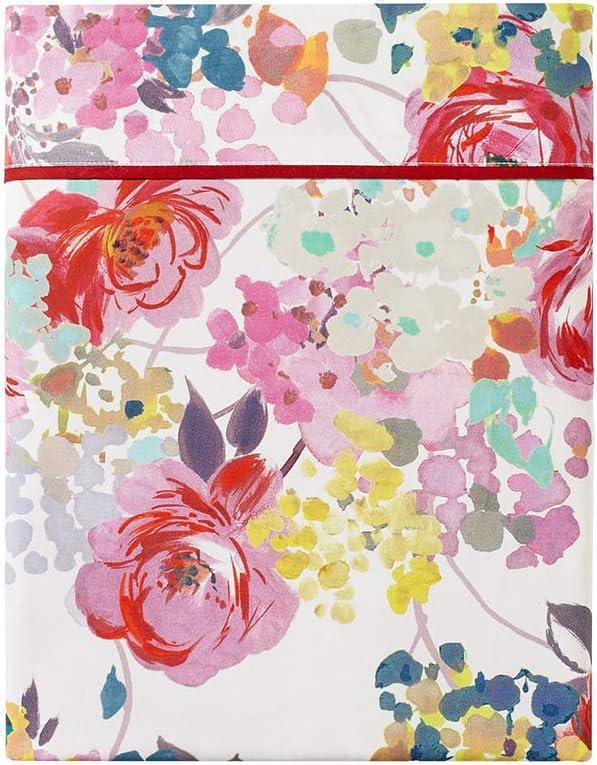 Anne de Solene King Flat Sheet Flore Fushia