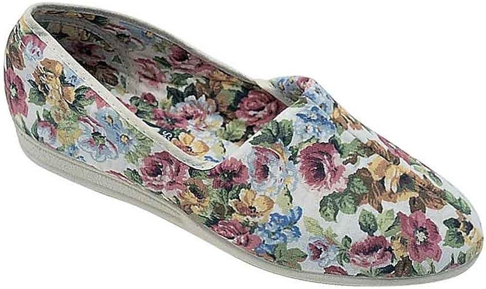 Mirak Bessie Damen Leinen Schlappen Damen Schuhe Hausschuh