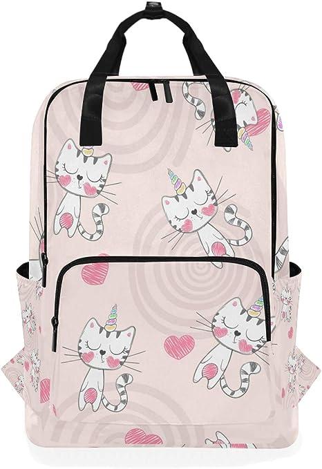 Cute Dog Animal Casual Travel Daypack School Backpack for Women Large Diaper Bag Rucksack Bookbag for College Fits 15inch Laptop Backpack