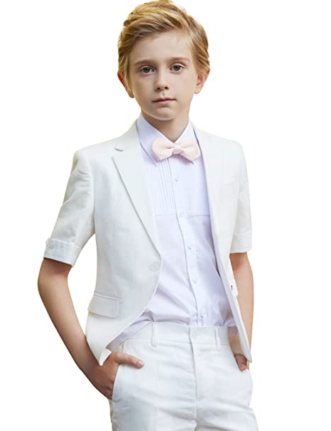 db3af738040b2 ELPA ELPA Boys Suits 4 Pieces Kids Summer Suits Formal Dress Wear ...
