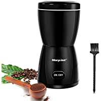 Deals on Morpilot 200w Electric Coffee Grinder w/Stainless Steel Blades