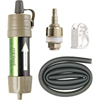 miniwell Gravity Water Filter Straw Ultralight Versatile Hiker Water Filter Optional Accessories. TUV Proven Emergency…
