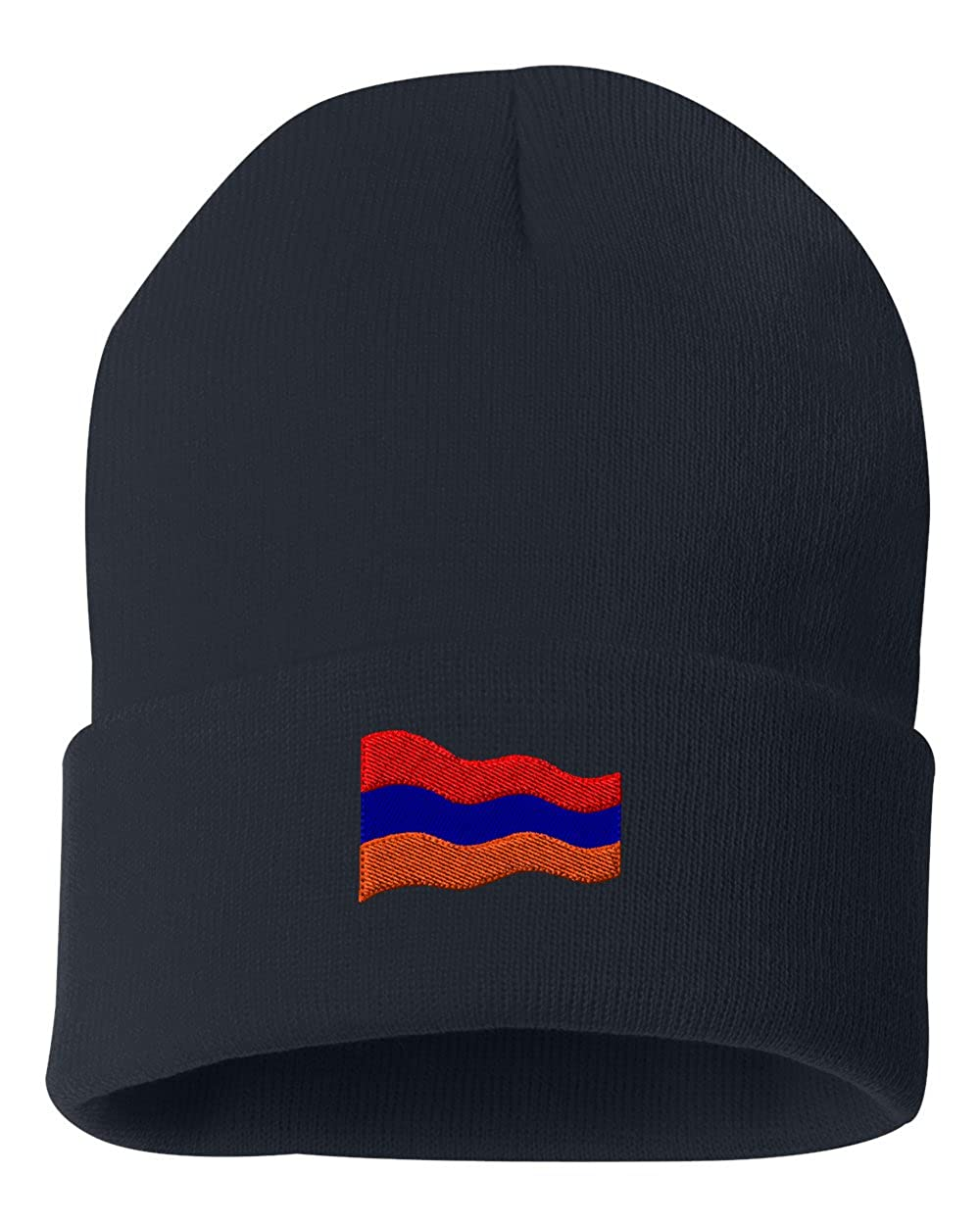 5a0ddfe1bb8 Armenia Flag Custom Personalized Embroidery Embroidered Beanie at Amazon  Men s Clothing store