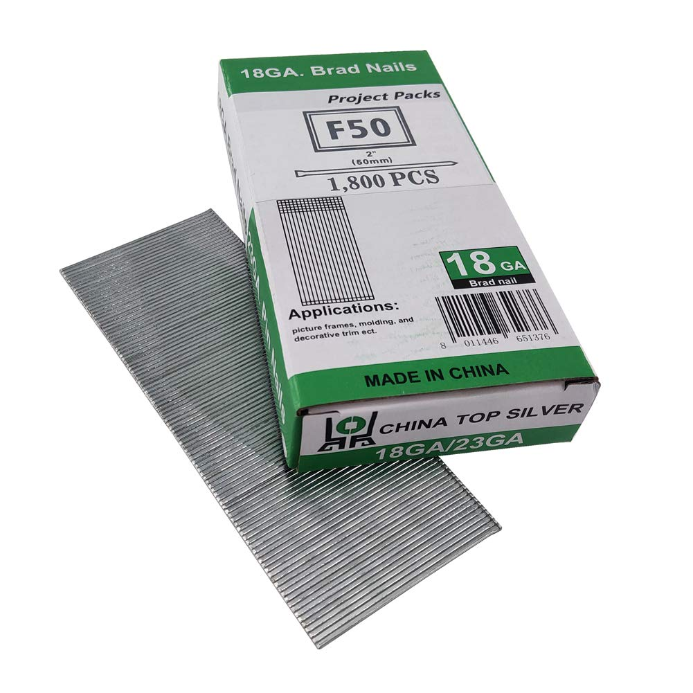 Senco  1-1//2 in Galvanized  Straight  Brad Nails  800 pk L 18 Ga
