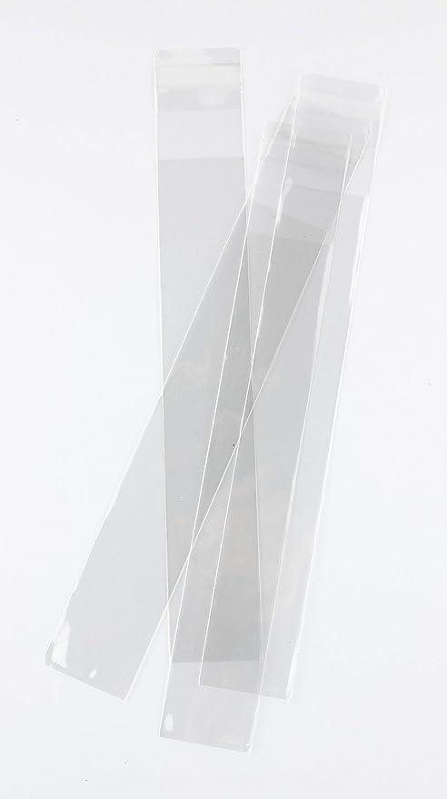 Bolsa de Polipropileno con Solapa Adhesiva de 7 x 20 cm (100 ...