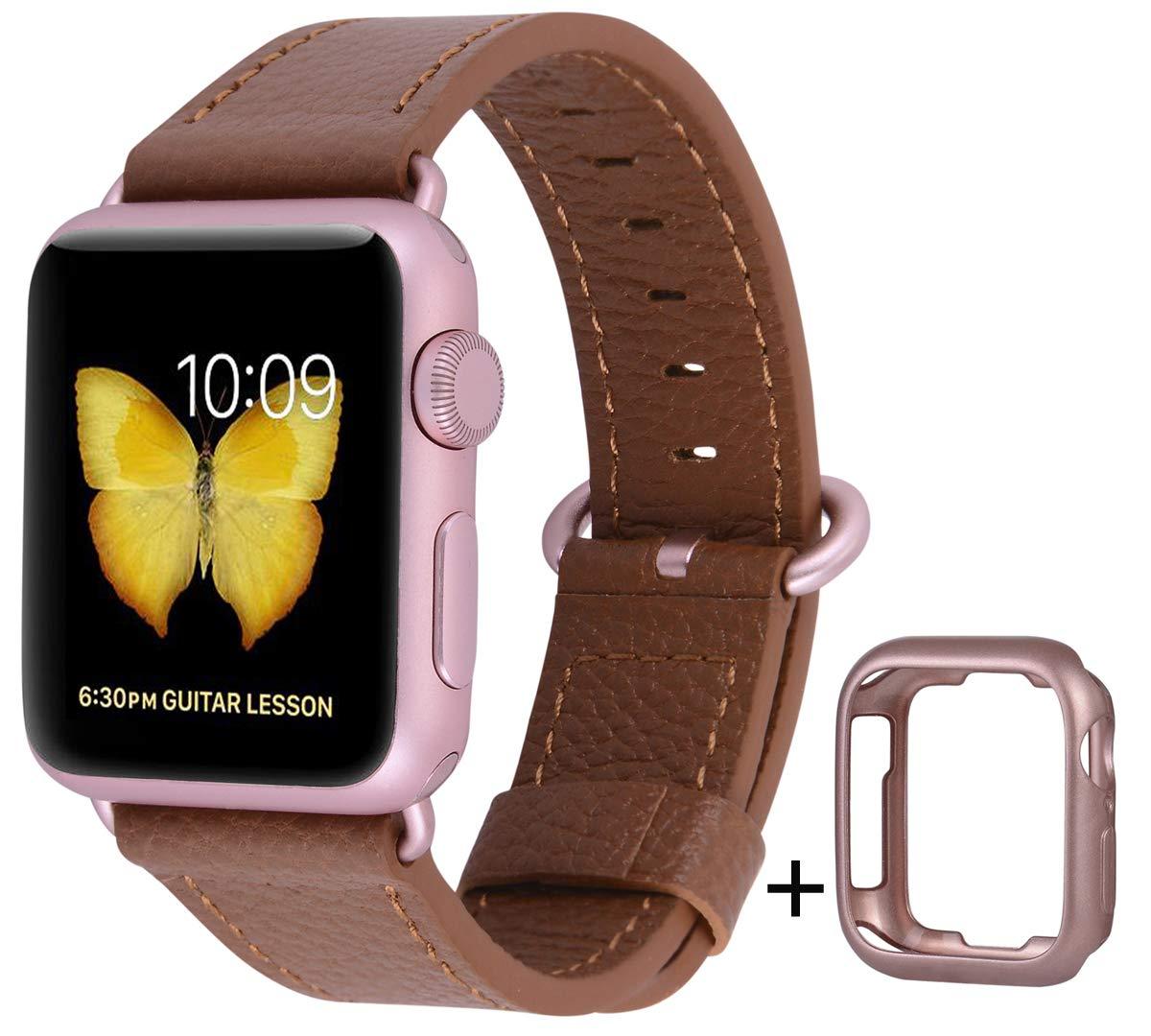 Malla Cuero para Apple Watch (38/40mm) PEAK ZHANG [7P7TK4NW]
